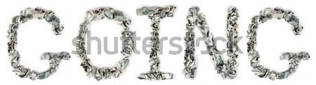 Culture - Crimped 100$ Bills Stock photo © eldadcarin