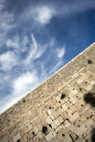 Mur vue une sacré personnes vieux Photo stock © eldadcarin