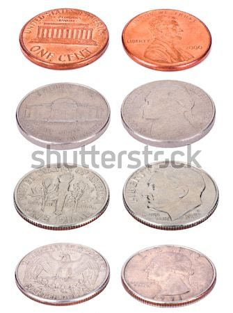 American Coins - Frontal Stock photo © eldadcarin