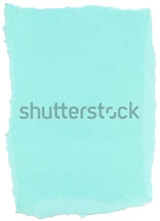 изолированный волокно текстуру бумаги cyan текстуры бумаги Сток-фото © eldadcarin