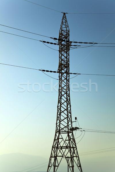 Pylon & Sky Stock photo © eldadcarin