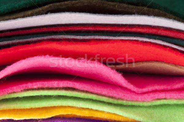 Weefsel kleuren omhoog achtergrond Stockfoto © eldadcarin