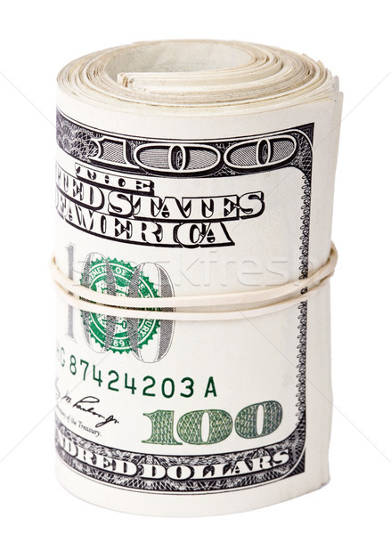 Rollen 100 bos amerikaanse dollar Stockfoto © eldadcarin