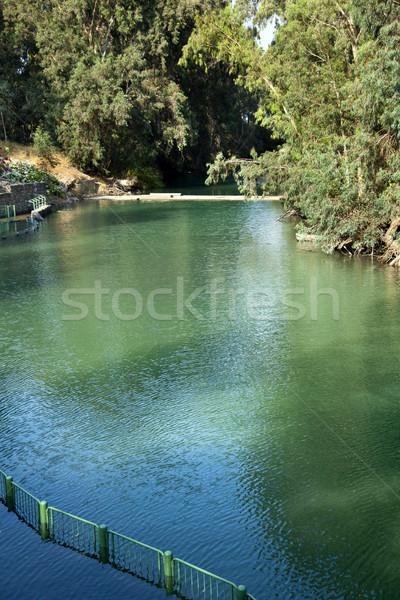 Jordanië rivier plaats Israël zinspelen Stockfoto © eldadcarin
