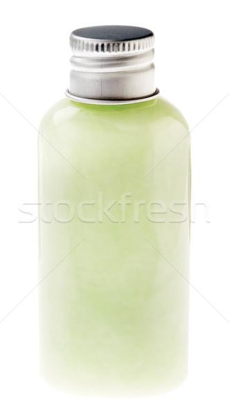 Aislado pastel verde loción botella pequeño Foto stock © eldadcarin