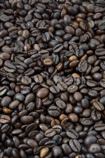 Coffee Beans Background Stock photo © eldadcarin