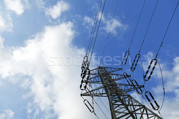 électricité noir céramique Photo stock © eldadcarin