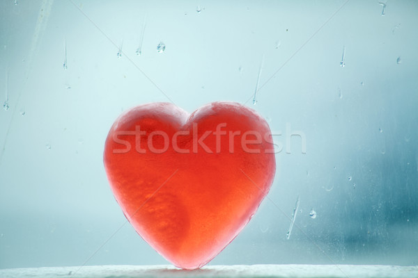 Stock photo: Wintery Heart