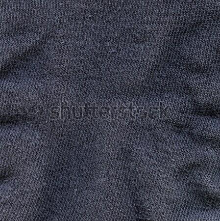ткань текстуры темно серый высокий разрешение Сток-фото © eldadcarin