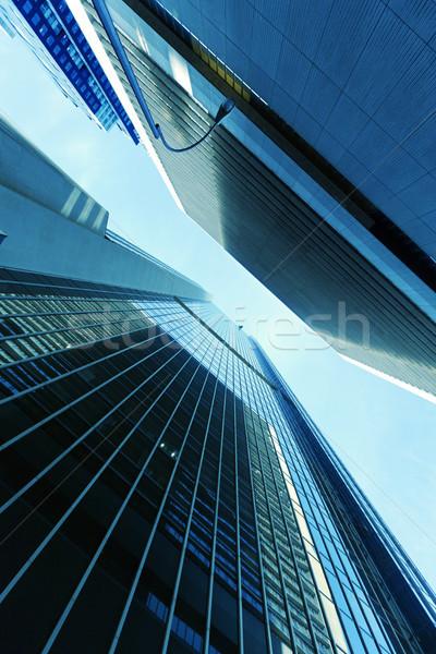 Skyscrapers Abstract Stock photo © eldadcarin