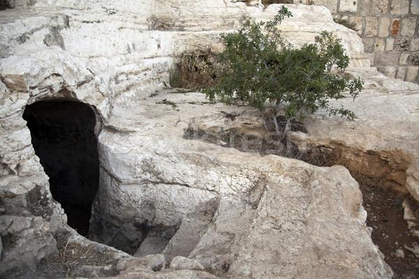 Stock fotó: ősi · sír · Jézus · halál · történelem · lépcső