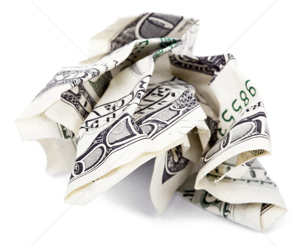 Zdjęcia stock: Odizolowany · pieniężnych · 100 · ceny · Uwaga · biały