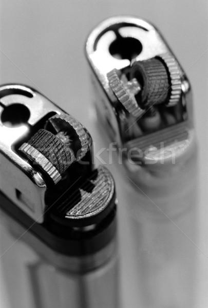 Dois quebrado macro par Foto stock © eldadcarin