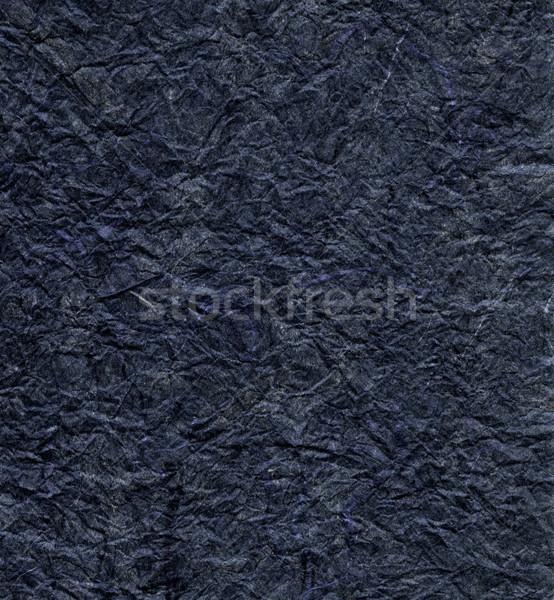 Rice Paper Texture - Grayish Blue XXXXL Stock photo © eldadcarin