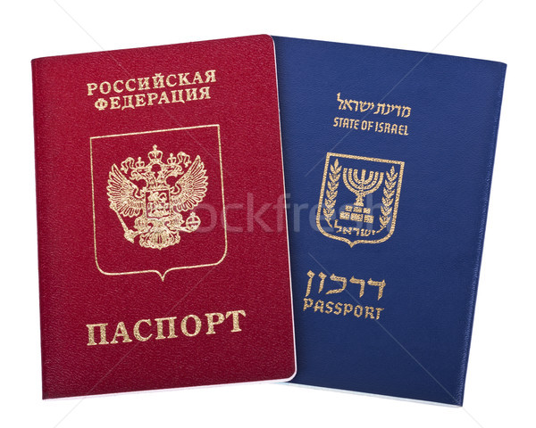 Double Nationality - Russian & Israeli Stock photo © eldadcarin