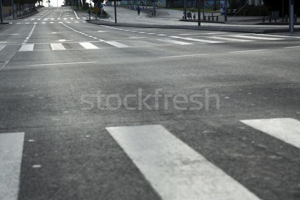 Vacant Main Street Stock photo © eldadcarin