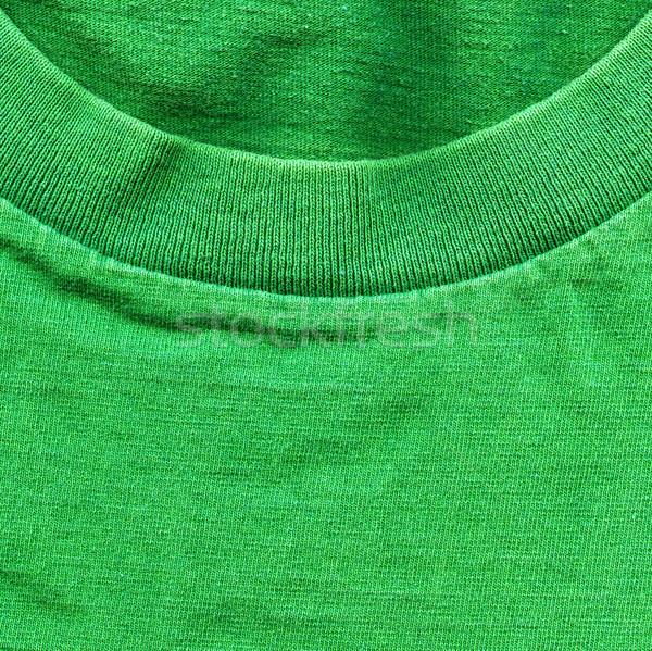 хлопка ткань текстуры ярко зеленый высокий Сток-фото © eldadcarin