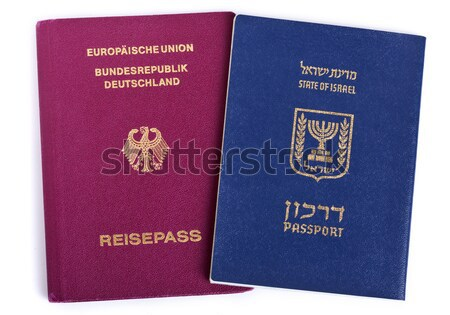 Triple Nationality - Israeli, American & German Stock photo © eldadcarin