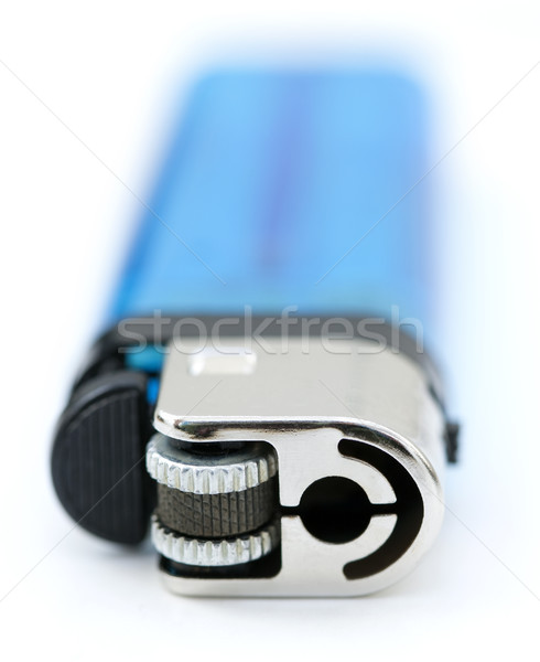 Isolated Blue Lighter Stock photo © eldadcarin