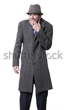 Tired Mysterious Mobster Stock photo © eldadcarin