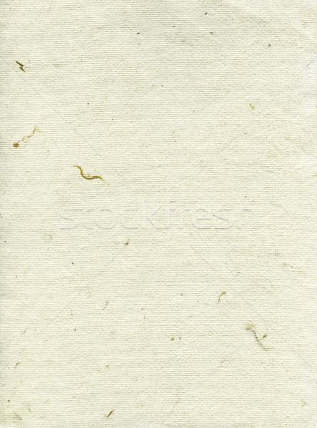 Rice Paper Texture - Cream White XXXXL Stock photo © eldadcarin
