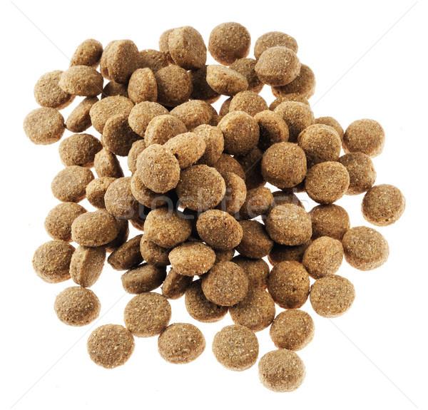 Isolated Dog Food - Top View Stock photo © eldadcarin