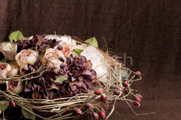 flower composition Stock photo © Elegies