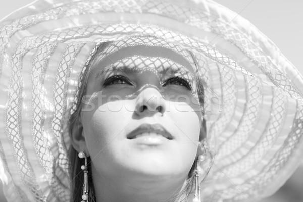 Bella ragazza estate giorno ragazza sorridere bella Foto d'archivio © Elegies