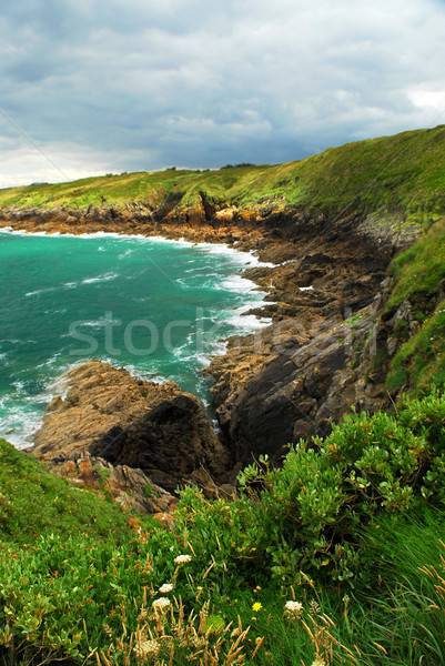 Brittany coast Stock photo © elenaphoto