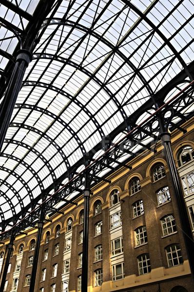 Hay's Galleria roof Stock photo © elenaphoto