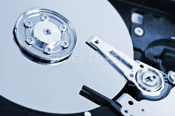 Hard drive detail Stock photo © elenaphoto
