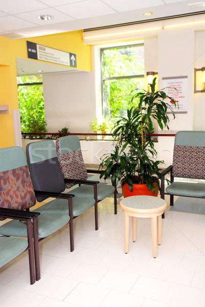 病院 待合室 クリニック 空っぽ チェア 医師 ストックフォト © elenaphoto
