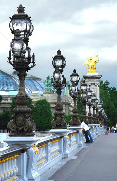 Pont Alexander III Stock photo © elenaphoto