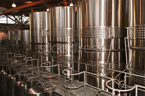 Wine making equipment Stock photo © elenaphoto