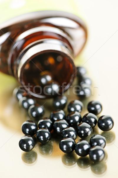 Chino patente medicina pastillas tradicional Foto stock © elenaphoto