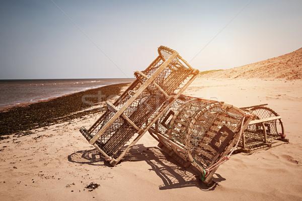 Langosta playa tres océano isla del príncipe eduardo Canadá Foto stock © elenaphoto