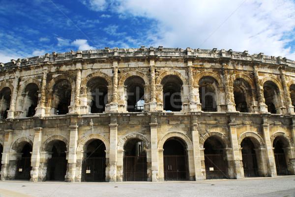 Foto d'archivio: Romana · Francia · città · meridionale · costruzione