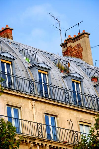 Foto stock: Paris · edifício · típico · França · cidade
