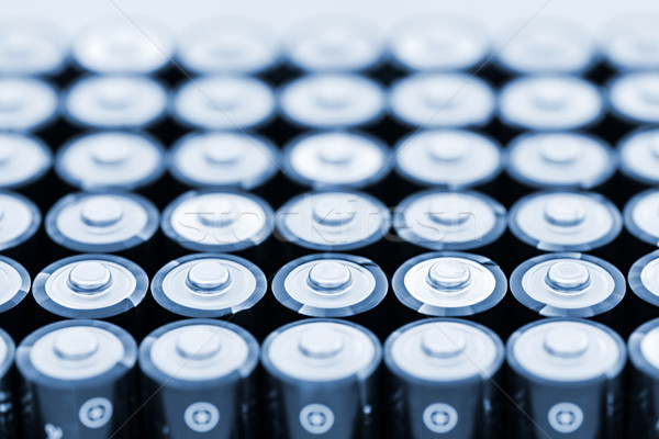 Batteries in array Stock photo © elenaphoto
