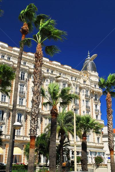 Stockfoto: Promenade · luxe · hotel · gebouw · gebouwen · architectuur