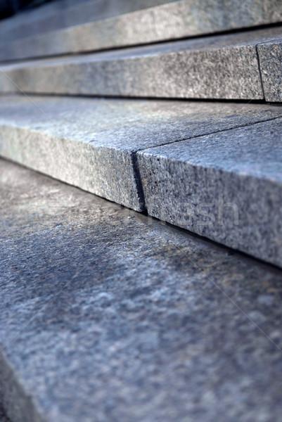 石 手順 階段 花崗岩 観点 ストックフォト © elenaphoto
