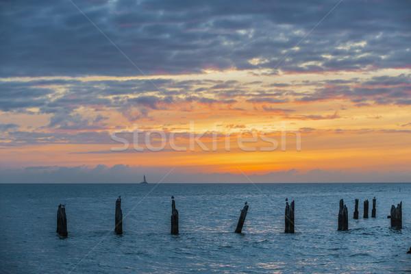 Key West sunset Stock photo © elenaphoto