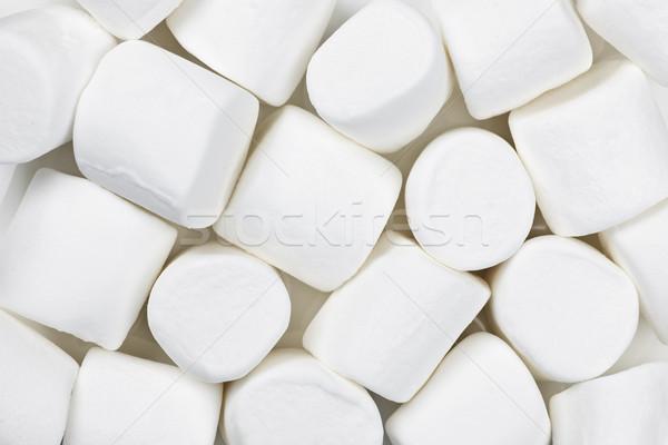 Veel zoete achtergrond witte suiker Stockfoto © elenaphoto