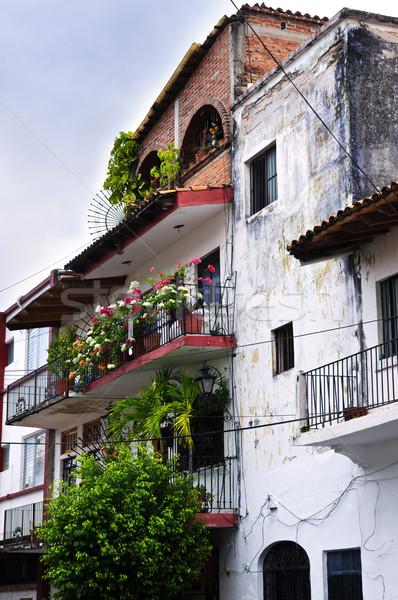Old building in Puerto Vallarta, Mexico Stock photo © elenaphoto