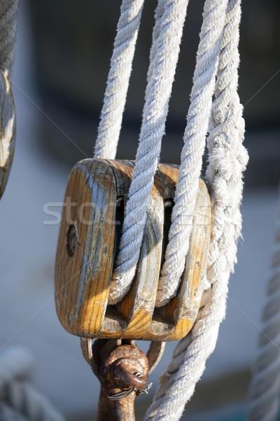 Sailing block Stock photo © elenaphoto