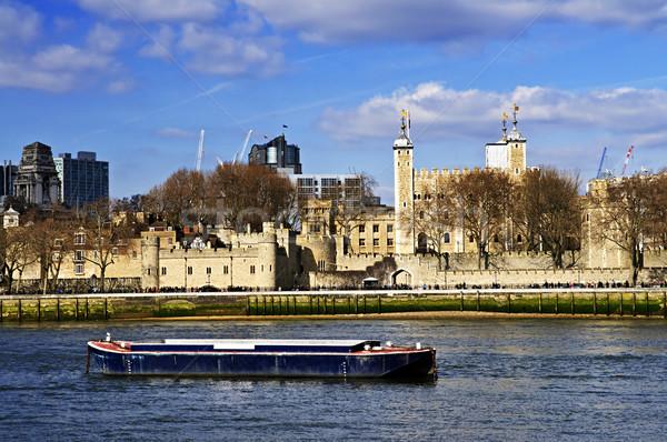 Tower of London skyline Stock photo © elenaphoto