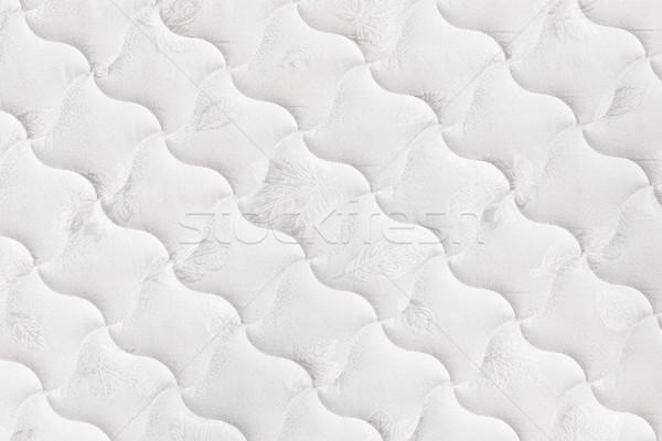 матрац фон мягкой удобный белый кровать Сток-фото © elenaphoto