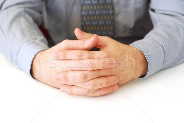 Hands Stock photo © elenaphoto