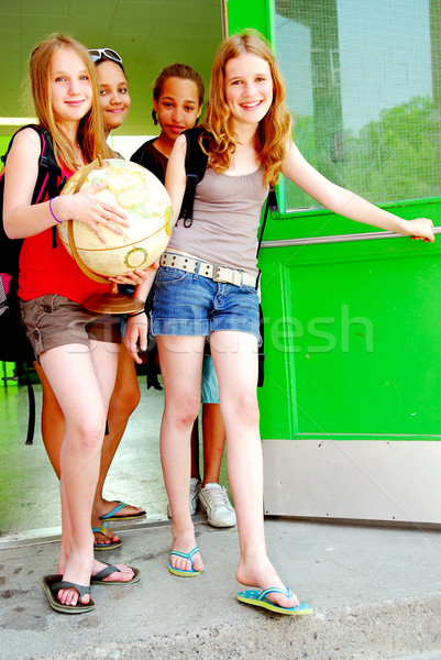 School girls Stock photo © elenaphoto