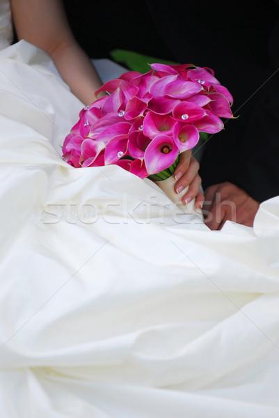 Wedding couple Stock photo © elenaphoto